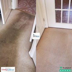 Carpet cleaning by 1stClass Carpet Cleaners Leicester a cleaning job from bosworth, Leicestershire (52.453360, -1.053620)