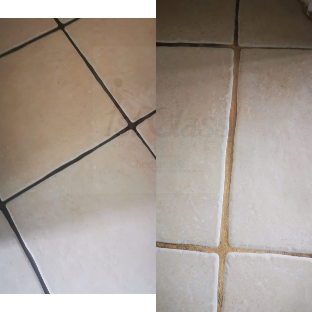 Tile and grout cleaning Leicester and Leicestershire.