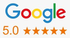 google 5 stars 1stClass Carpet Cleaners